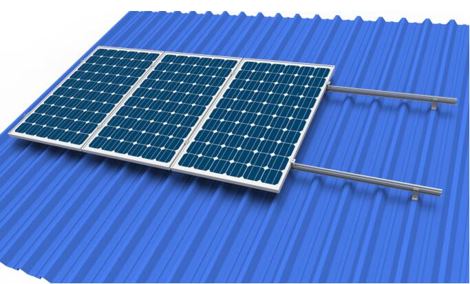 metal roof solar system chiko solar mounting system