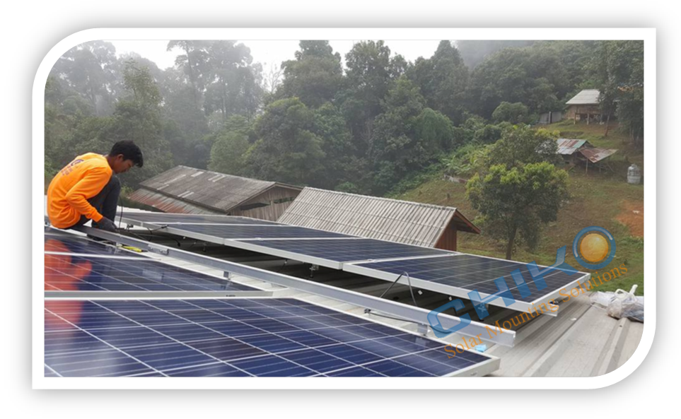 Commercial Warehouse Roof Solution Located In Chiengmai