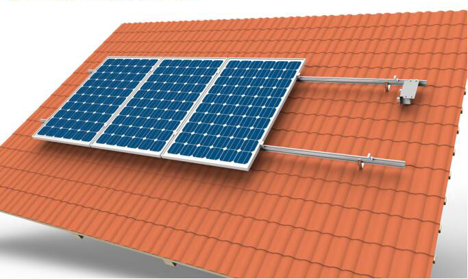 Tile Roof Solar System Chiko Solar Mounting System